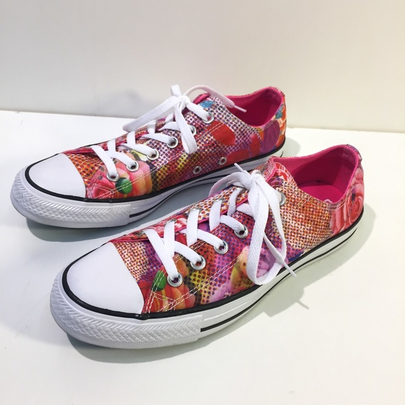1a55493e6634 Converse Shoes - Converse Chuck Taylor All Star Floral Flower